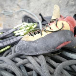 Seil, Exen, La Sportiva Schuhe
