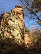 Pferchfeldfels- Pfalz