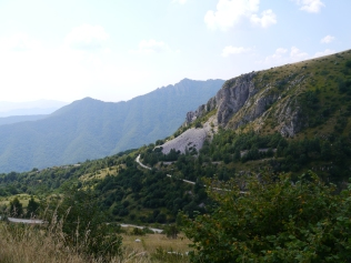 Wanderweg beim Massi Della Duda
