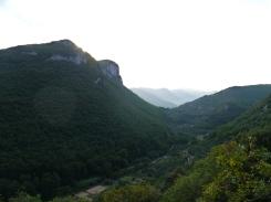 Blick über die Hügel von Finale