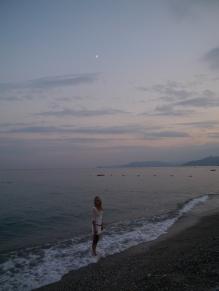 Strand in Finale Ligure